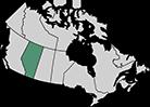 A map of Alberta