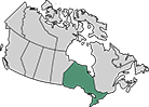A map of Ontario