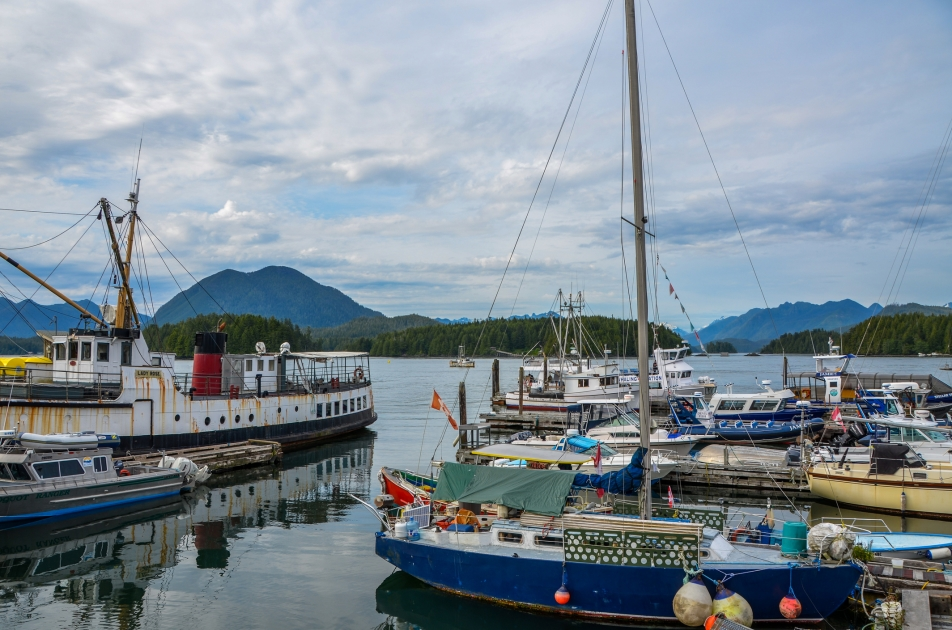 A harbour in British Columbia