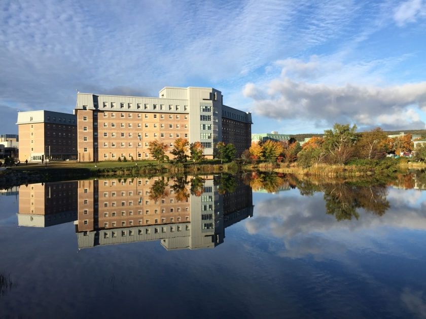 Memorial University in Newfoundland in Canada.