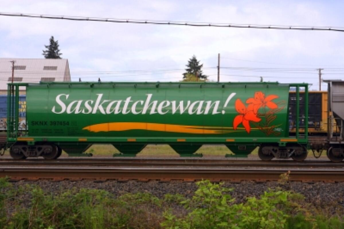 Saskatchewan green train