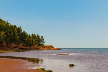 A beach in Belmont Provincial Park, Prince Edward Island, Canada