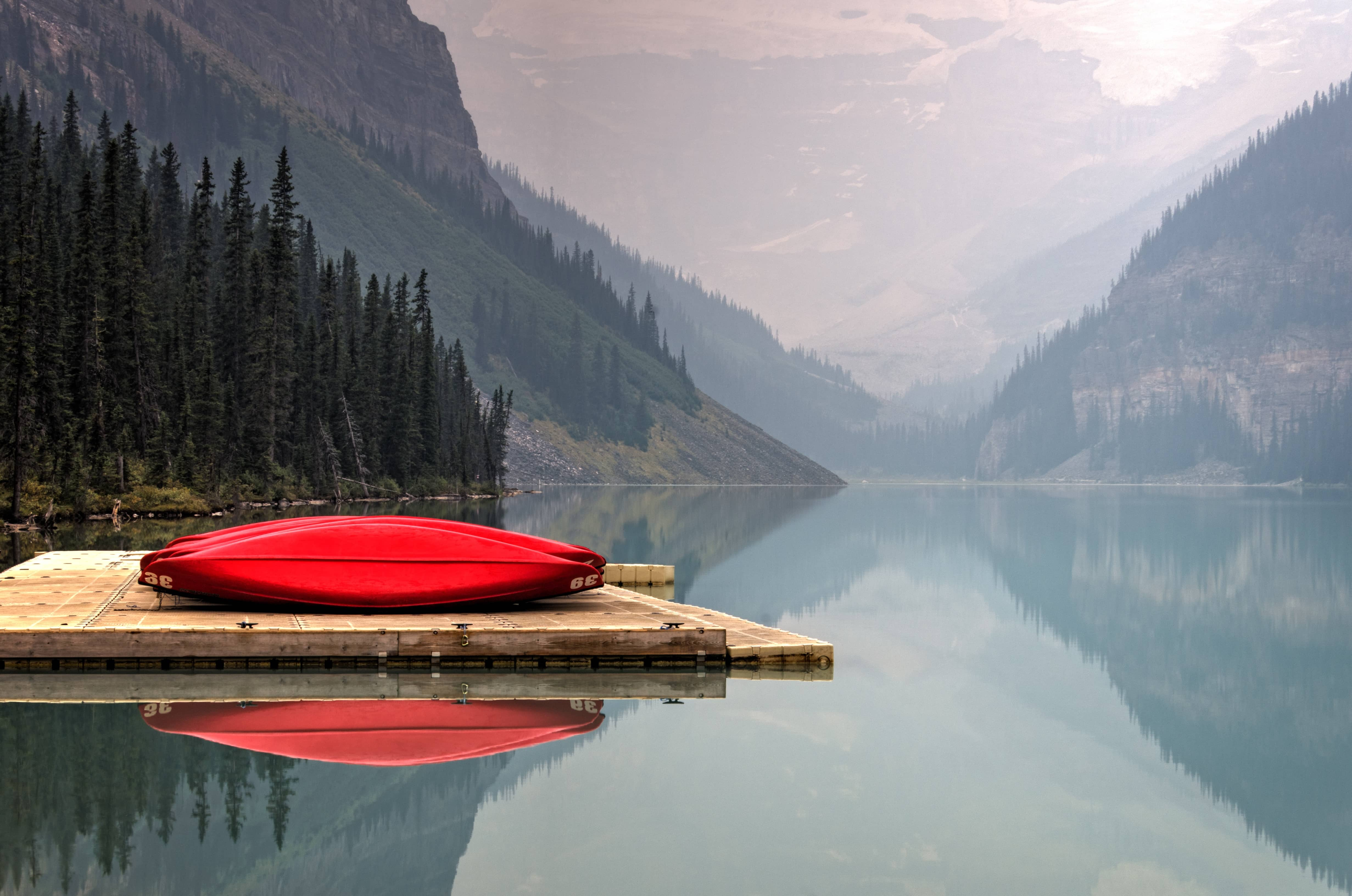 A beautiful lake in British Columbia.