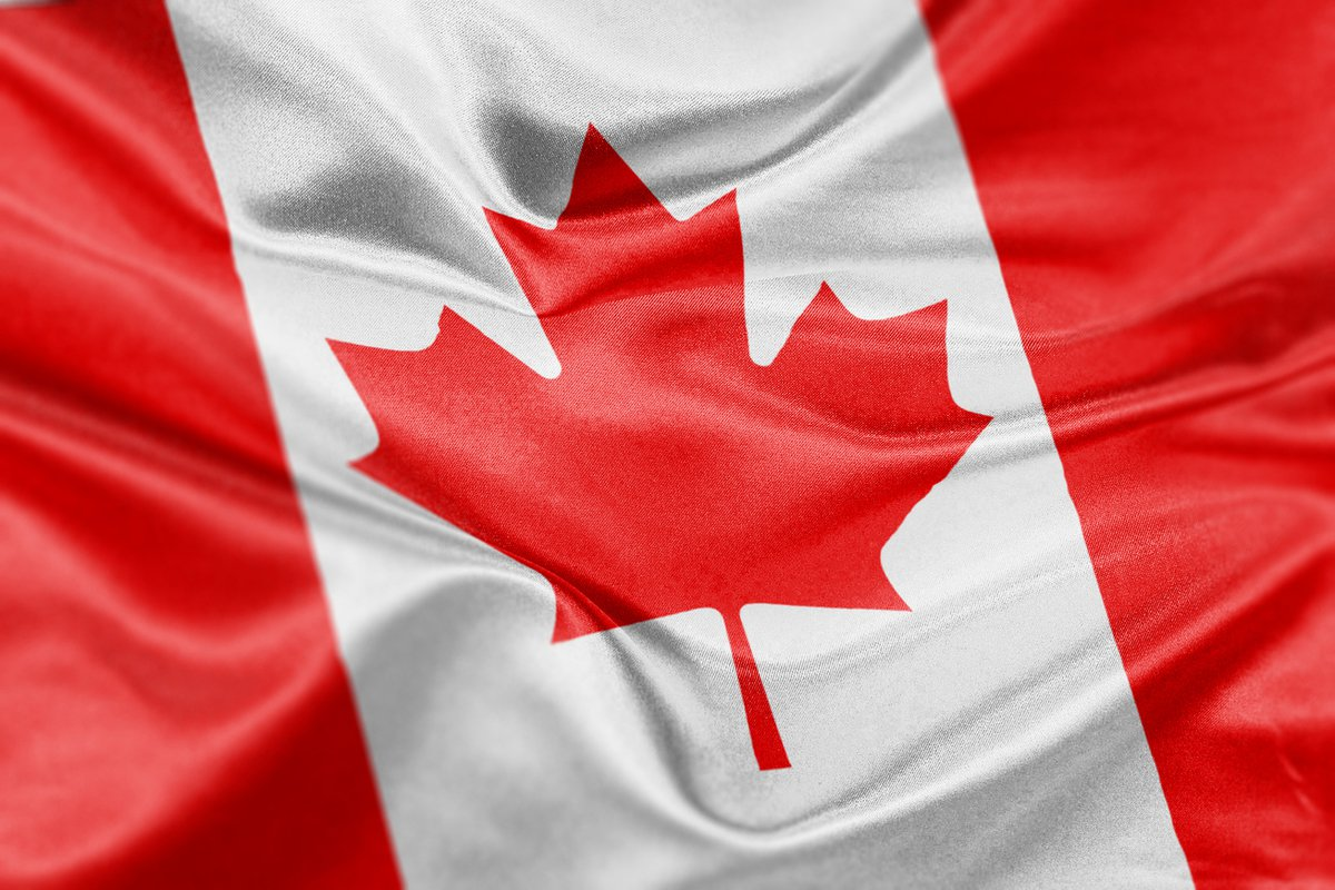 Canada flag graphic