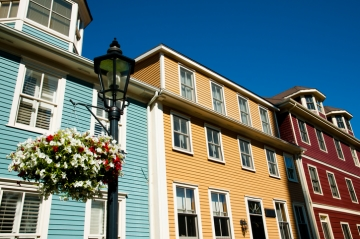 A view of a Charlottetown homes in Prince Edward Island
