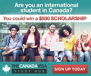 Join the CanadaVisa Study Hub for a chance to win a $2,500 scholarship!
