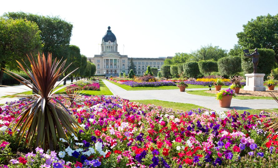 Beautiful city of Regina in Saskatchewan, Canada