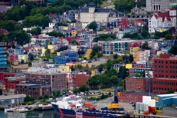 St. John's, the capital city of Newfoundland and Labrador, Canada
