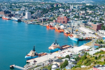 St. John's in Newfoundland, Canada