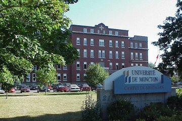 Université de Moncton in Moncton, New Brunswick, Canada