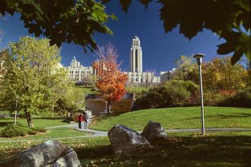 The Université de Montréal in Montreal, Quebec, Canada