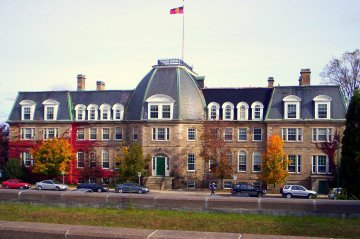 The University of New Brunswick Old Arts Building