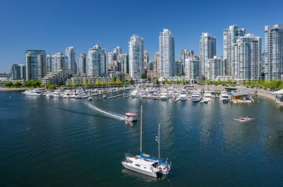 A scenic view of Vancouver